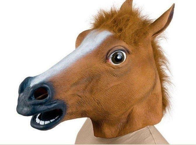 Ptákoviny - Maska - hlava koně