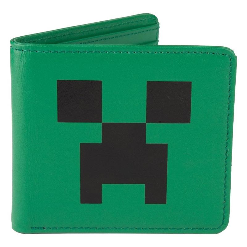 Oblečení a móda - Minecraft peněženka Creeper face