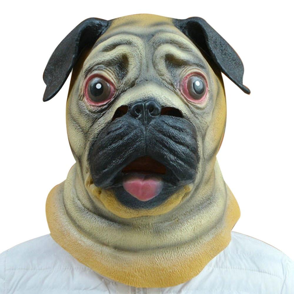 Maska hlava psa