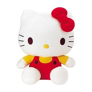 Plyšák Hello Kitty 20 cm - Modrá