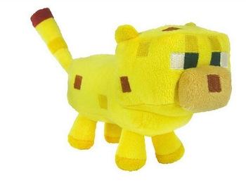 Hračky - Plyšák Minecraft kočka žlutá - 24 cm