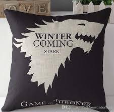 Povlak na polštář Game of Thrones žlutý
