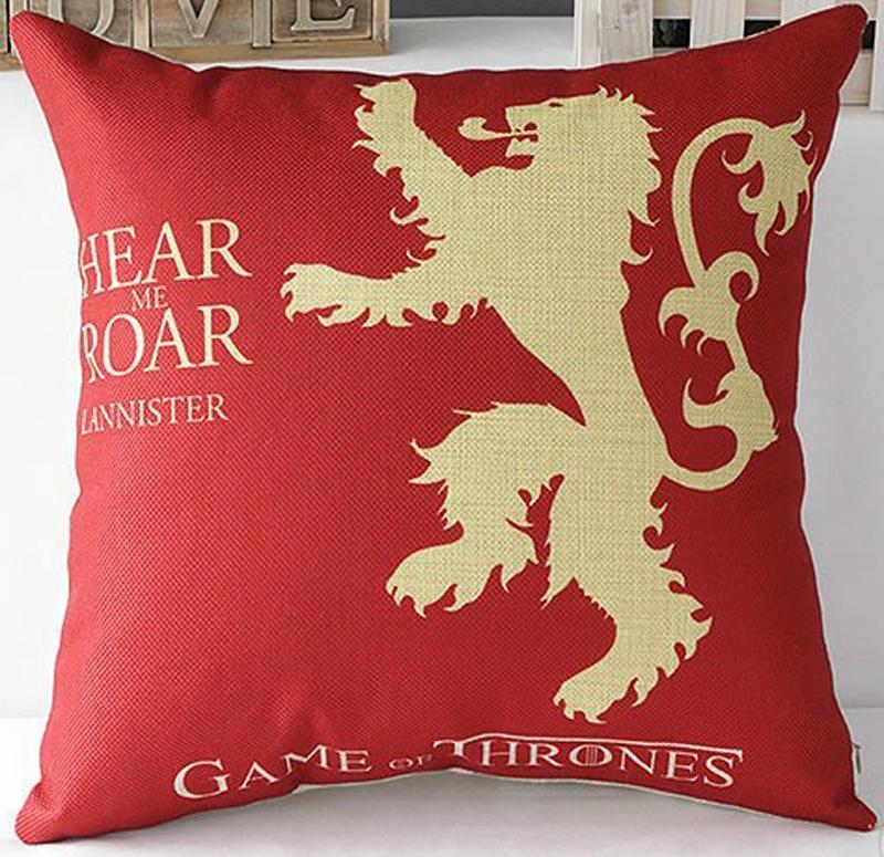 Povlak na polštář Game of Thrones červený