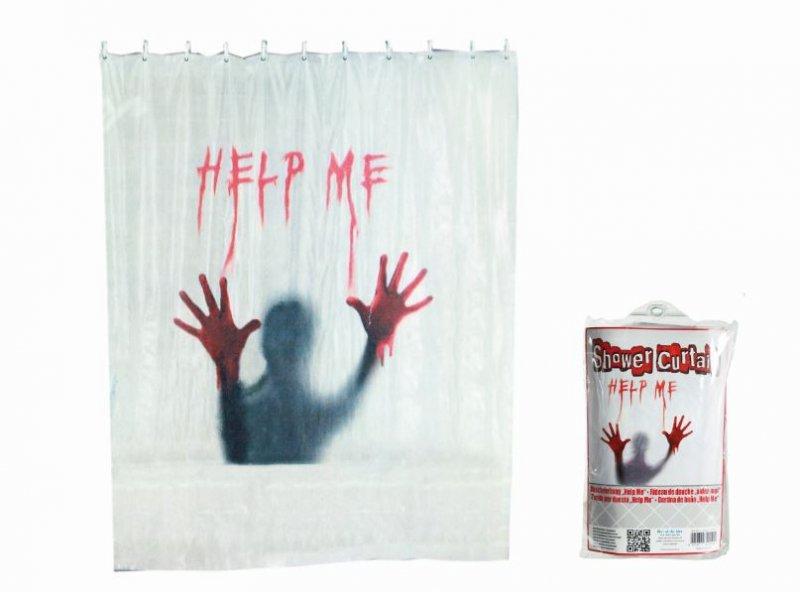 Sprchový závěs - Help me