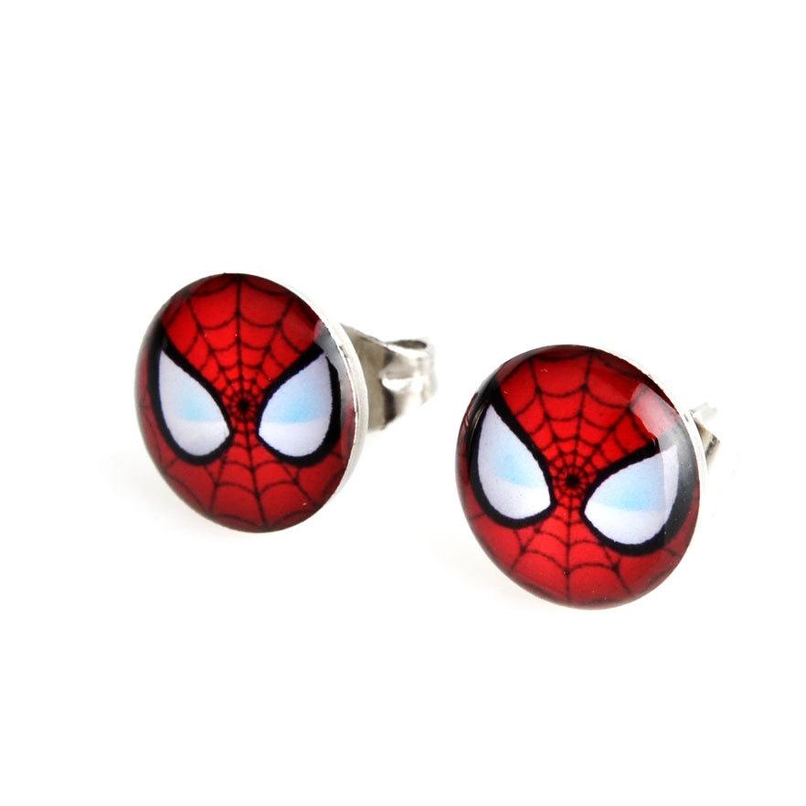 Náušnice Spiderman