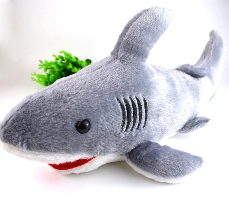 Plyšák žralok 40 cm