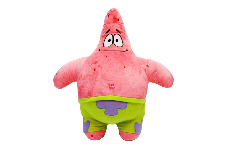 Hračky - Plyšák Spongebob Hvězda Patrik 23cm