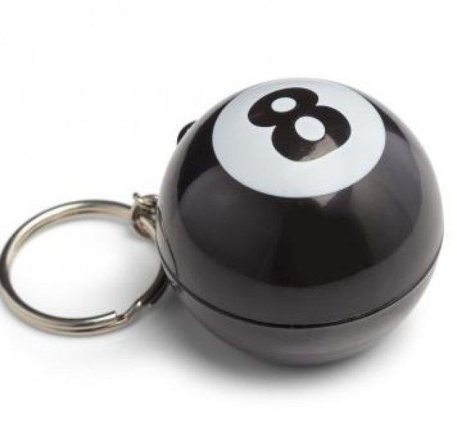 Přívěšek na klíče - Mystic 8 Ball magická koule