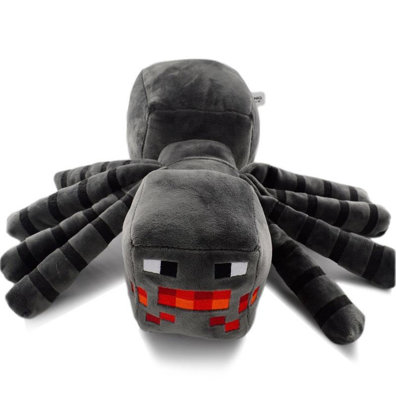 Hračky - Plyšák Minecraft pavouk - 16 cm
