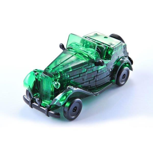 Krystal Puzzle - Auto - Zelené