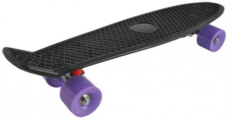 Stylový skateboard z tvrzeného plastu - Zelený