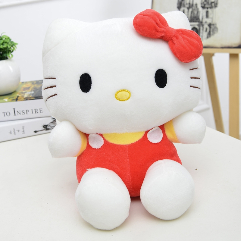 Plyšák Hello Kitty - 25 cm - Modrá
