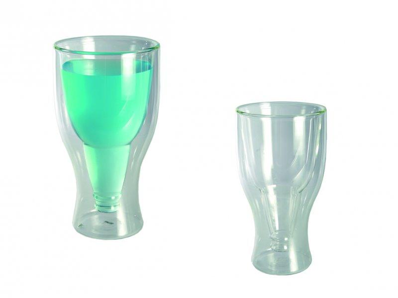 Bydlení a domácnost - Dvojitá pivní sklenice - 350 ml