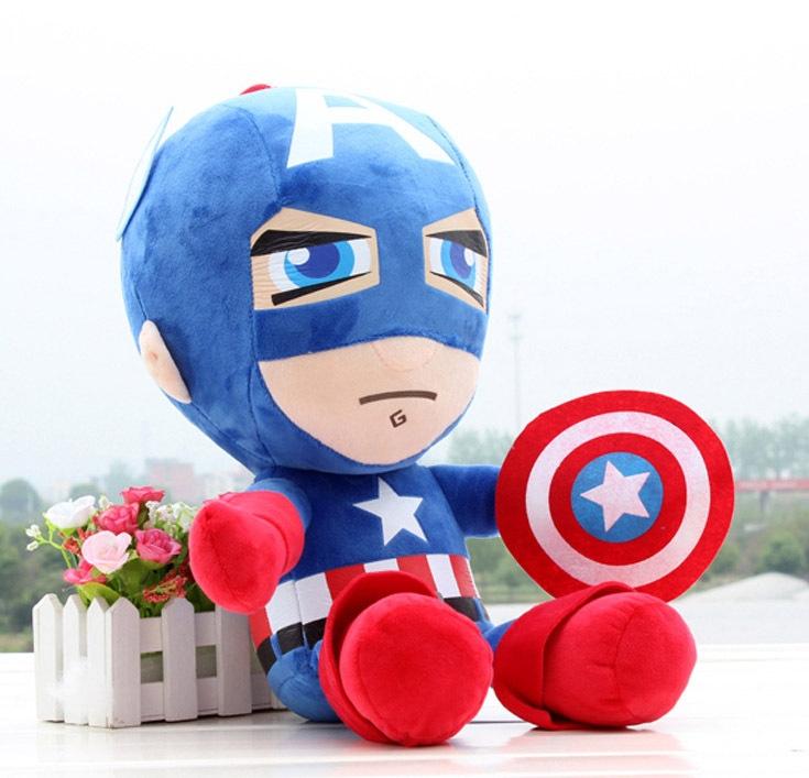 Plyšák Kapitán Amerika 25 cm