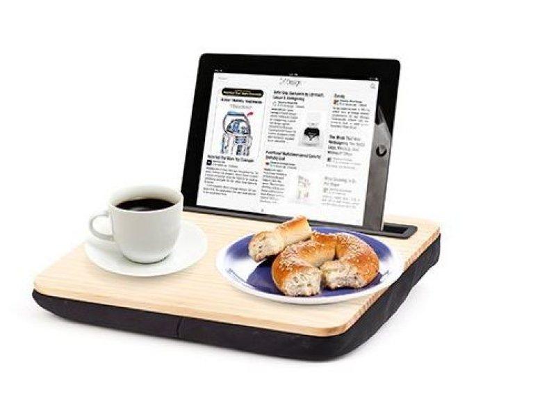 Bydlení a domácnost - Dřevěný stolek na tablet