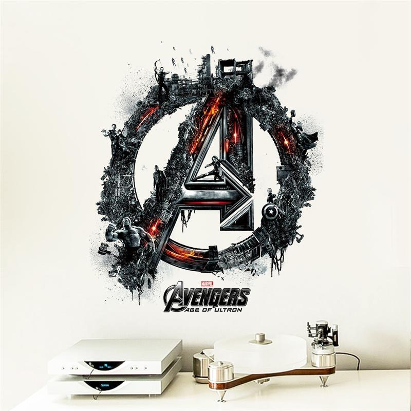 Samolepka na zeď - Avengers Age of Ultron