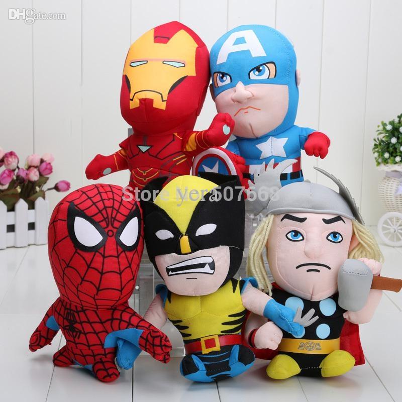 Plyšáci Avengers 18 cm
