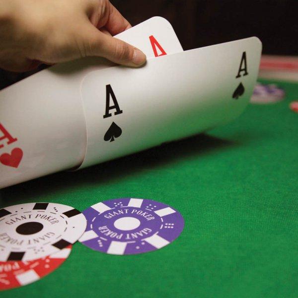 Poker karty XXL
