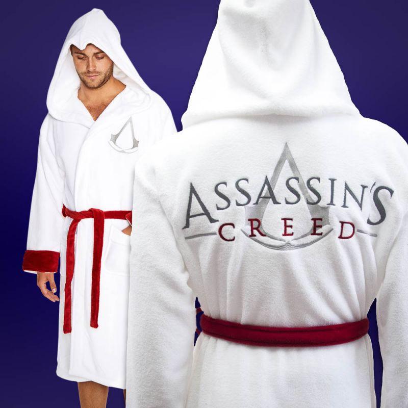 Pánský župan Assassin Creed (Bílý)