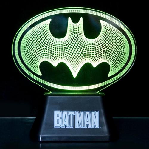 Bydlení a domácnost - Malé akrylové světlo - Batman 84043fb0f8c