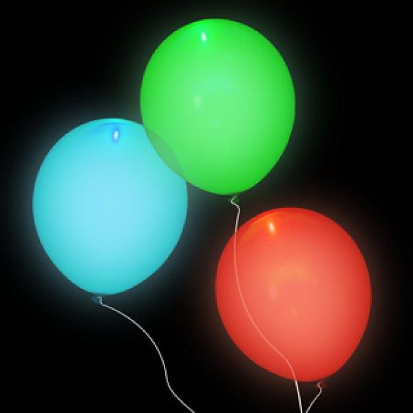 Svítící nafukovací balónky - párty sada