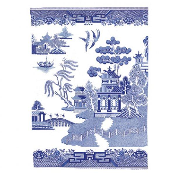 Utěrka - styl anglický porcelán
