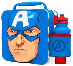Bydlení a domácnost - 3D taška na piknik - Captain America