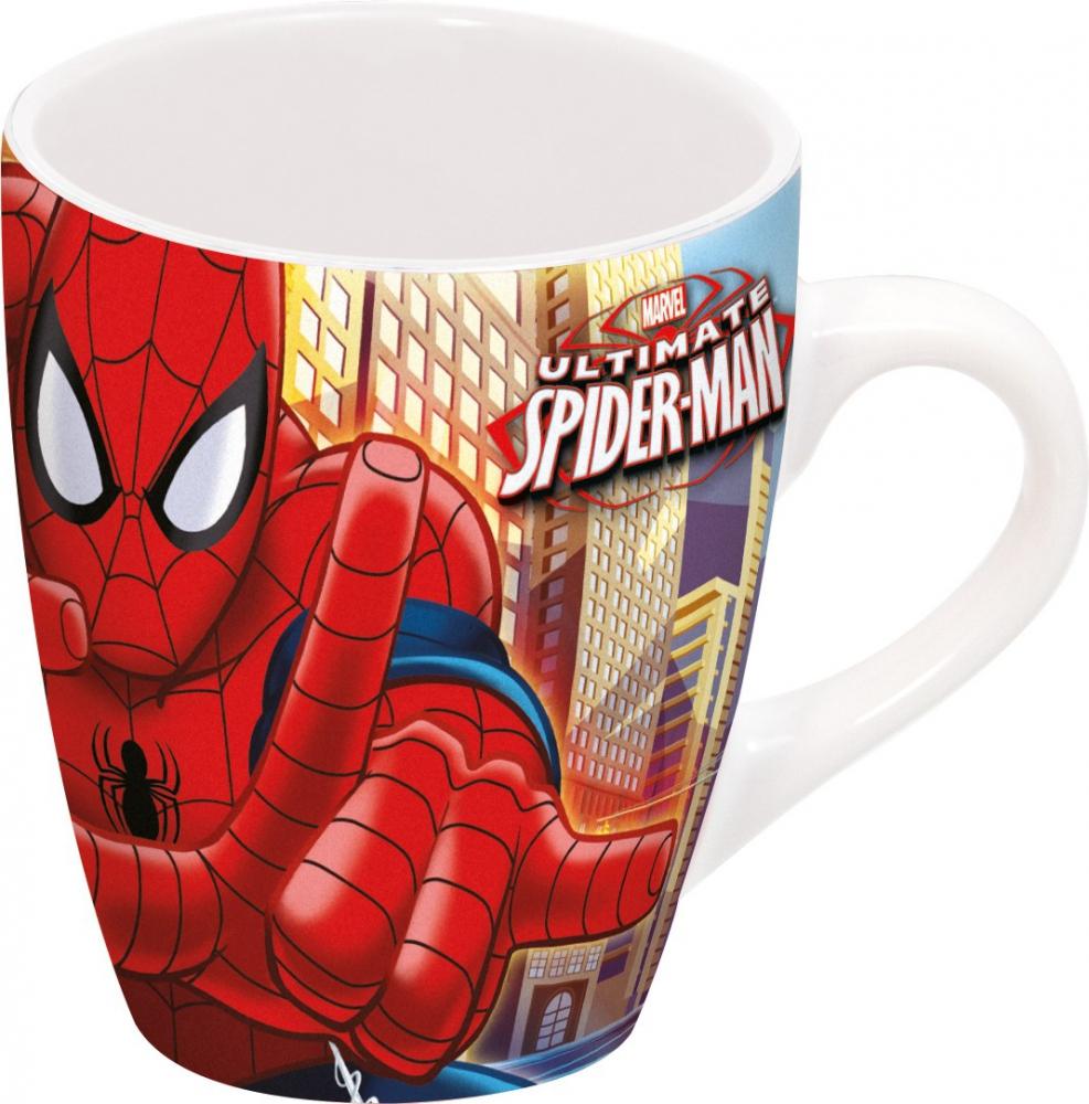 Bydlení a domácnost - Kulatý hrnek - Spiderman