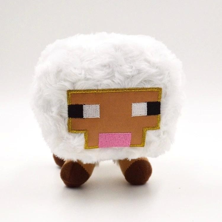 Plyšák Minecraft ovečka - 16 cm