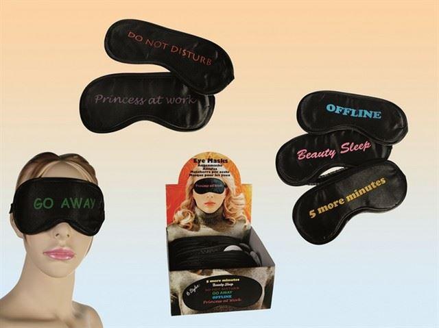 Vtipná maska na spaní  (Beauty sleep)