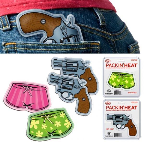 Oblečení a móda - Dva revolvery pro zahřátí
