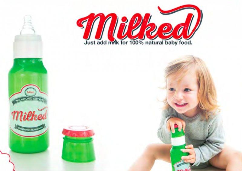 Pivní dětská lahvička na mléko