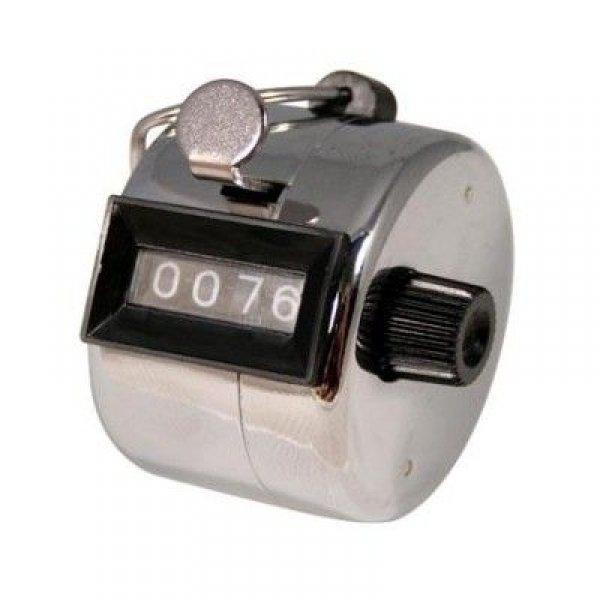Gadgets - Chick clicker - ruční počítadlo - Chromovaný
