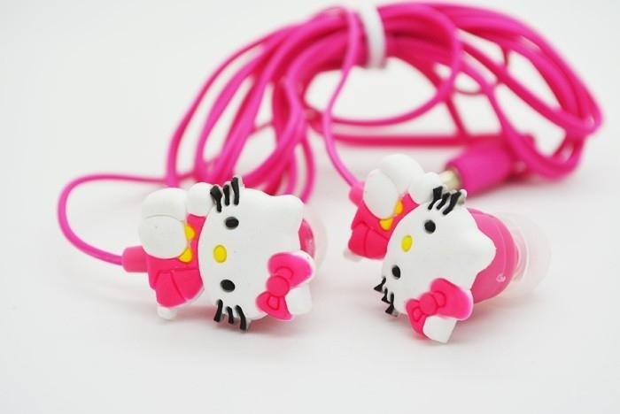 Sluchátka Hello Kitty růžová