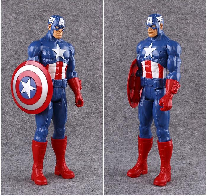 Hračky - Akční figurka Captain America - 30 cm