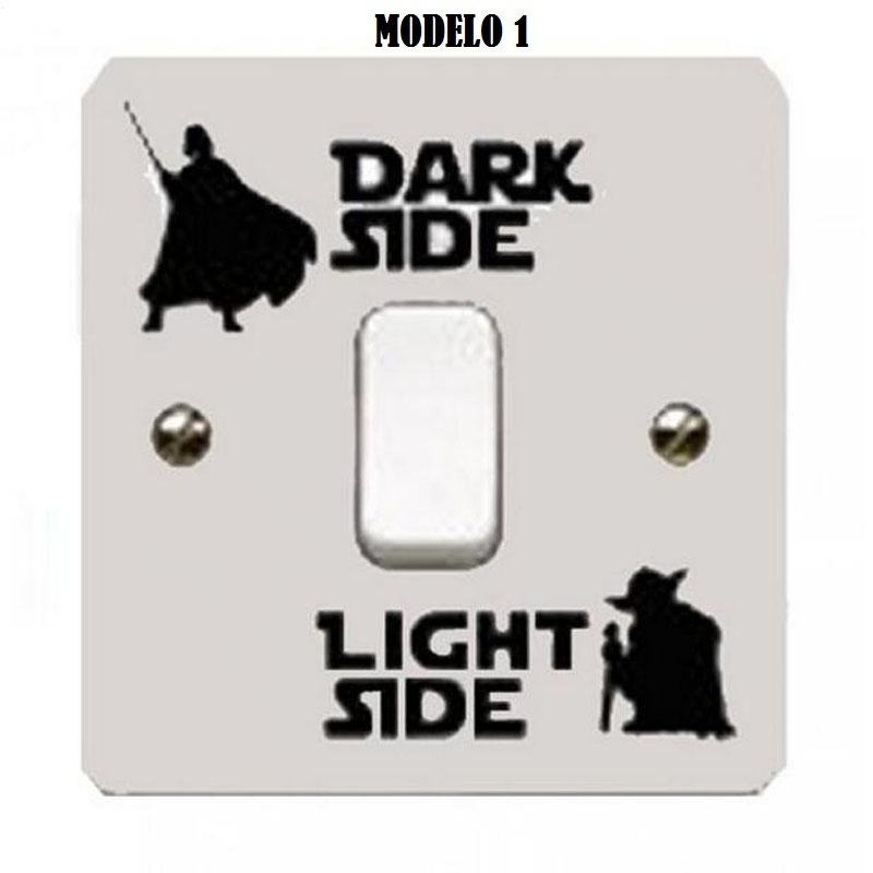99b890e9a519 Samolepka - Star Wars - Dark side Light side