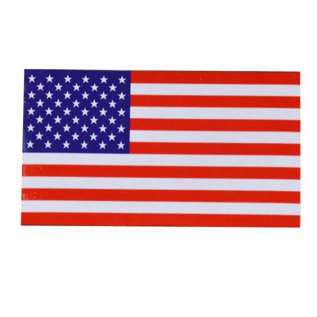 Bydlení a domácnost - Nálepka na auto - vlajka USA