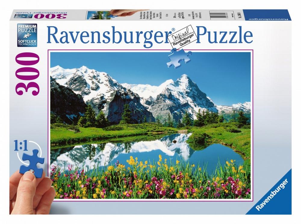 Hračky - Ravensburger Berner Oberland Švýcarsko 300 dílků