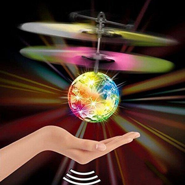 Gadgets - Létající disko koule reagující na ruku