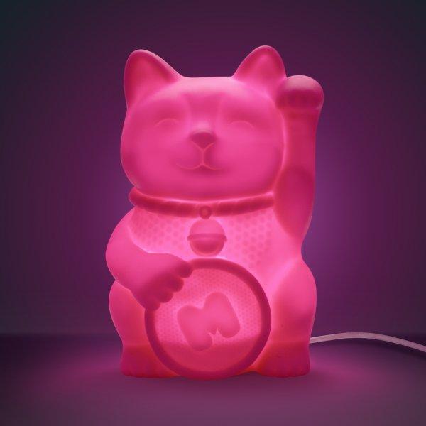 Bydlení a domácnost - Stolní lampička: Maneki Neko - kočička štěstí
