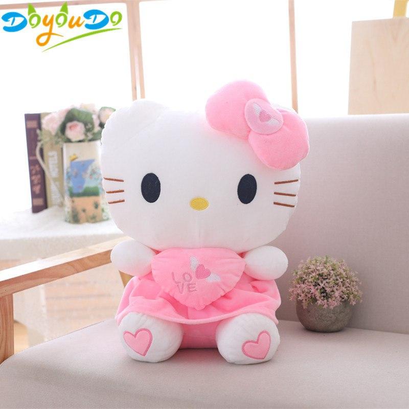 Plyšák Hello Kitty - 50 cm - Růžová