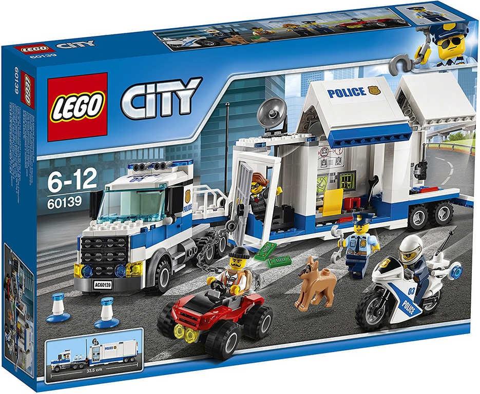 LEGO CITY Mobilní velitelské centrum 60139