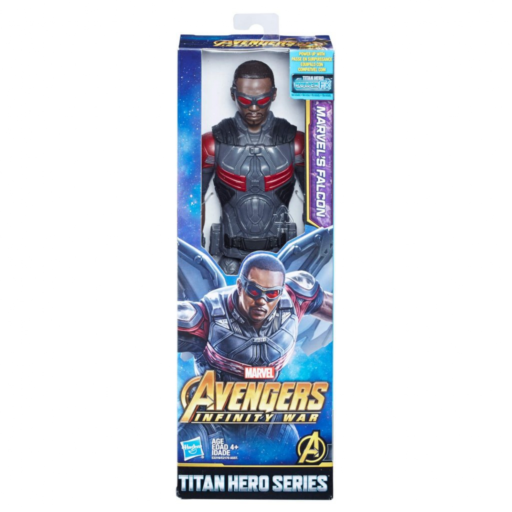 Hračky - Avengers 30cm deluxe figurka s doplňky - Falcon