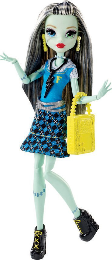 Hračky - Monster High Frankie Základní příšerka - Frankie Stein