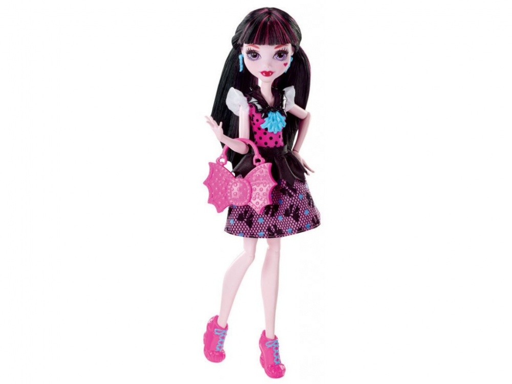 Hračky - Monster High Frankie Základní příšerka - Drakulaura