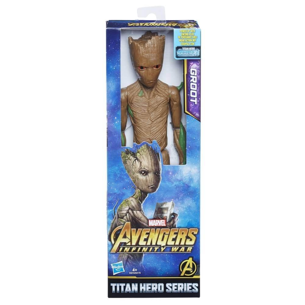 Hračky - Avengers 30cm deluxe figurka s doplňky - Groot