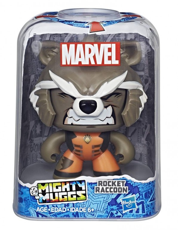 Hračky - Marvel Mighty Muggs - Rocket Raccon