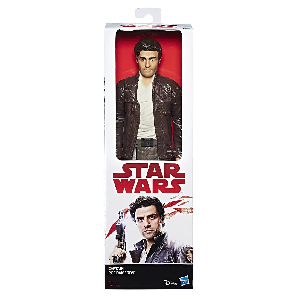 Hračky - Star Wars E8 Figurka hrdiny 30cm - Captain Poe Dameron