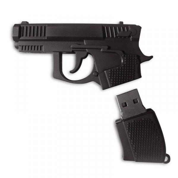 Elektronika - USB flash disk v pistoli