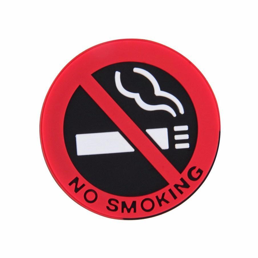 Nálepka do auta - No smoking